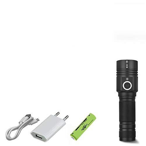 Telescopico Zoom 300000 LM XHP90.2 Più Potente Torcia LED USB Di Ricarica Di Alluminio Impermeabile XHP90 XHP50 XHP70 18650/26650 Adatto For Il Lavoro, La Caccia, Trekking, Pesca, Il Campeggio E Le At