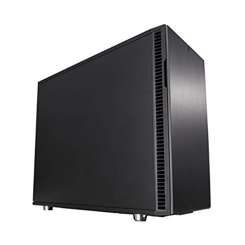 Fractal Design Define R6 - Mid TowerCustodia computer - Ottimizzato per flusso d'aria elevato e elaborazione silenziosa - Interno modulare - Flusso d'aria - Layout aperto - Nero