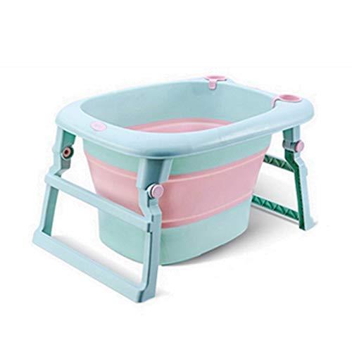 LYY Piscina Portátil Portátil Bañera Plegable, Utilizada for bañarse y bañarse for bebés y Mascotas, bañera no tóxica e inofensiva, portátil Adecuado para Jardines caseros y Tiendas de Mascotas.