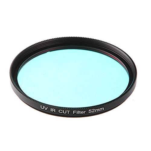 Camera Filter 46 49 52 55 62 67 72 mm UV-IR Cut Filter Infrared Pass X-Ray IR UV Filter for DSLR Camera (Caliber : 52mm)