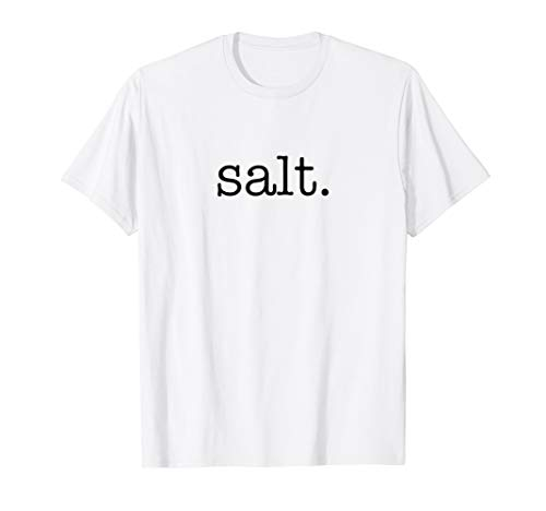 Matching Halloween Shirt SALT and pepper Costume for Couples