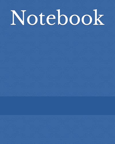 notebook journal Journal Notebook: 200 Pages (Blue)