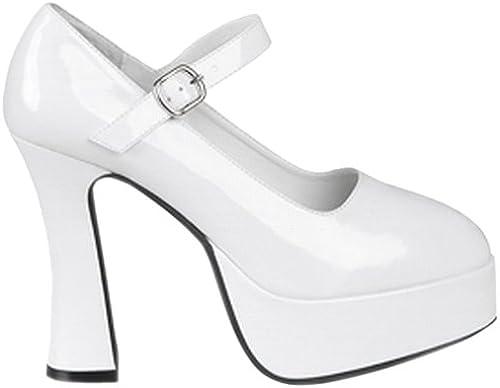 Boland 46013 - Schuhe Disco Weiß, Größe 39