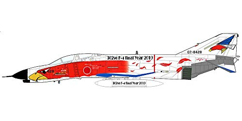 HOBBY MASTER 1/72 航空自衛隊 F-4EJ改 ファントムII 第302飛行隊 退役記念塗装 07-8428 完成品