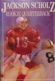 Hardcover Rookie Quarterback by Jackson Volney Scholz (1993-09-03) Book