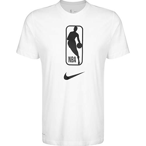 Nike Camiseta Manga Corta T-Shirt, Blanc, L Homme