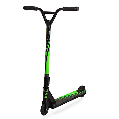 Billy Trottinette Freestyle Nero Luxe Wave Green