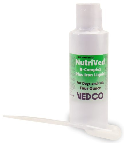 Nutrived B-Complex with Iron - 4 oz.
