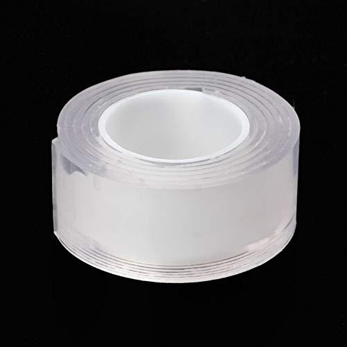 Pangyoo PYouo-Tira de Sellado Adhesivo Reutilizable Adhesivo de Silicona Antideslizante Universal Pegatinas de Pared de Doble Cara, Sellado eficiente