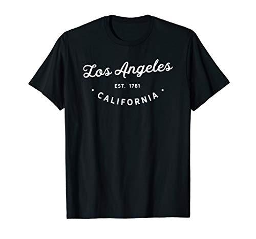 Classic Retro Vintage Los Angeles California LA 1781 USA T-Shirt