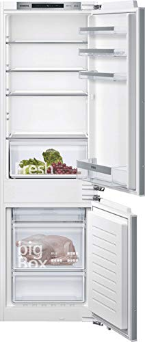 Siemens KI86NVFF0 iQ300 - Congelador integrado (A++, 222 kWh/año, 254 l, noFrost, caja grande, iluminación LED)