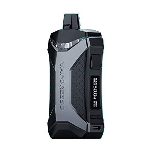 Original Vaporesso XIRON Pod Mod Kit with 1500mAh Pod-Vape 5.5ml Visible Pod Cartridge Fit GTX Mesh Coil 810 Thread E Cig Vapor (negro)