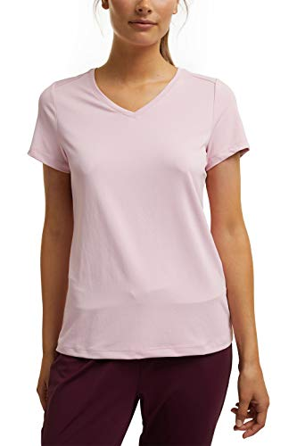ESPRIT Sports Womens T Edry Hiking Normal Shirt, 690/Light Pink, M
