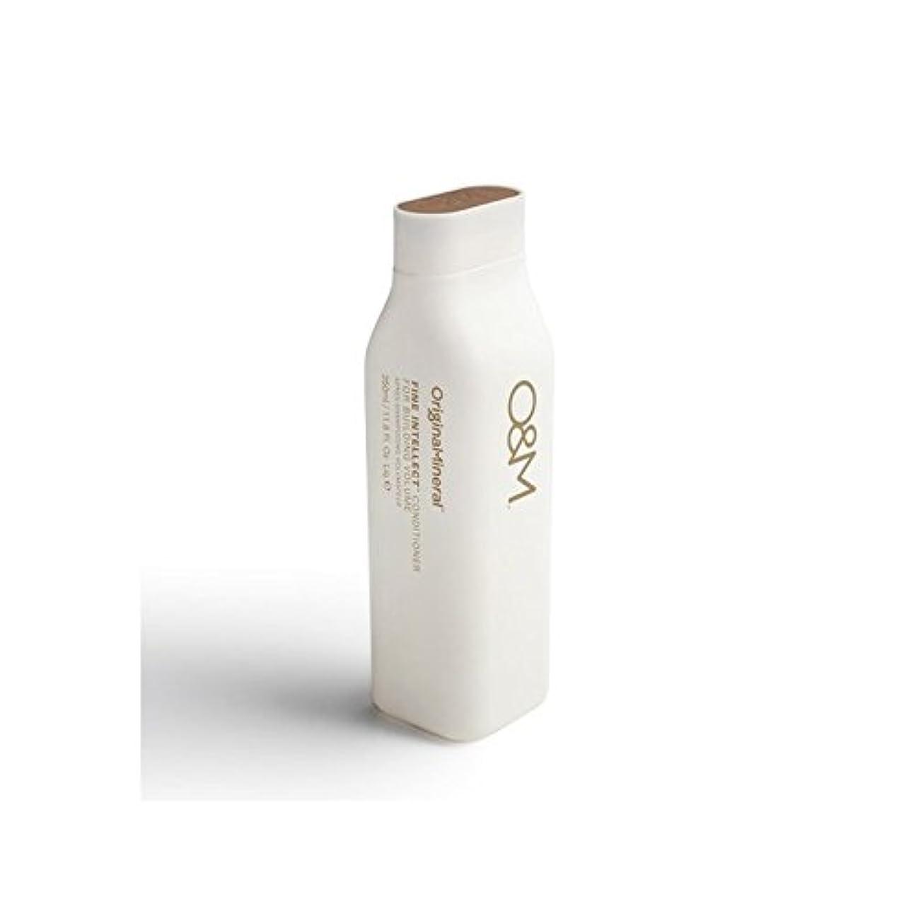 破滅的なおとこ版Original & Mineral Fine Intellect Conditioner (350ml) (Pack of 6) - オリジナル&ミネラル細かい知性コンディショナー(350ミリリットル) x6 [並行輸入品]