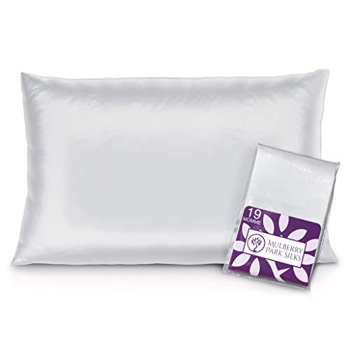 Mulberry Park - 19 Momme Silk Pillowcase - Prevents Bed Head, Tames...