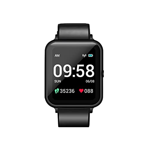 Oferta de Lenovo Smart Watch S, LCD1,3'', Bluetooh 4.2, batería 200 mAh, 3ATM 30m, Color Negro