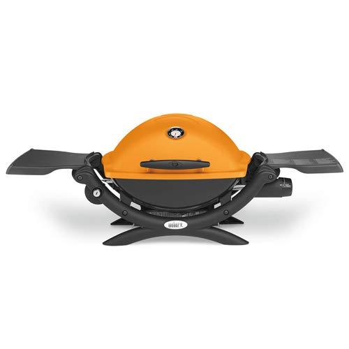 Weber Q 1200 Gasgrill, Orange