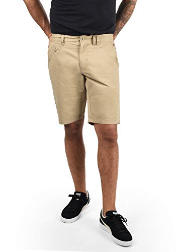 BLEND Sasuke Herren Chino Shorts kurze Hose, Größe:XL;Farbe:Chalk Stone (70032)