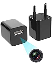 IFITech 1080p HD Hidden Camera | USB Charger Type | Maximum 128GB SD Support | Loop/Motion Triggered Recording Option | Ideal for Home/Office Monitoring