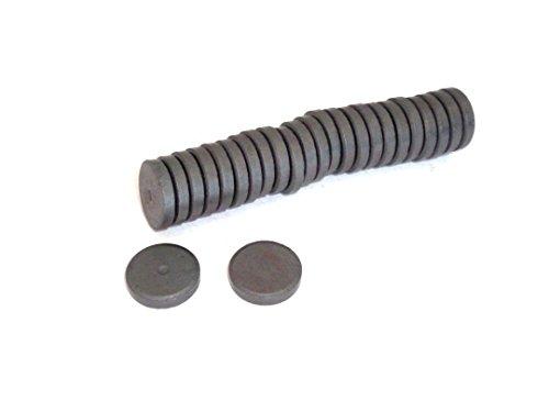ERRO Lot de 25 aimants ronds - Diamètre : 14 mm x 3 mm - Pour bricoler, bricoler, bricoler et décorer