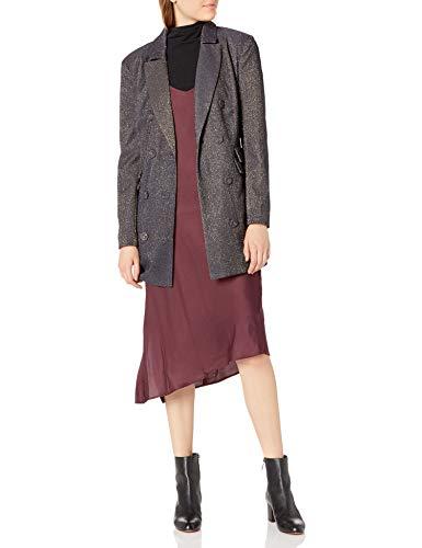 C/Meo Collective Damen by Night Shimmer Fashion Blazer, Marineblau Metallic, Medium