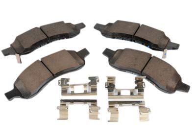 ACDelco 171-1067 GM Original Equipment Front Disc Brake Pad Assembly