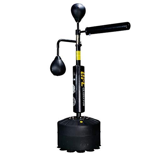 Dummies Boxing Reaction Target Rotation Dodge Speed Ball Boxen Vertikale Sandsäcke Erwachsene Boxing Reaction Target Heimtrainingsgeräte (Color : Black, Size : 50 * 50 * 160 cm)