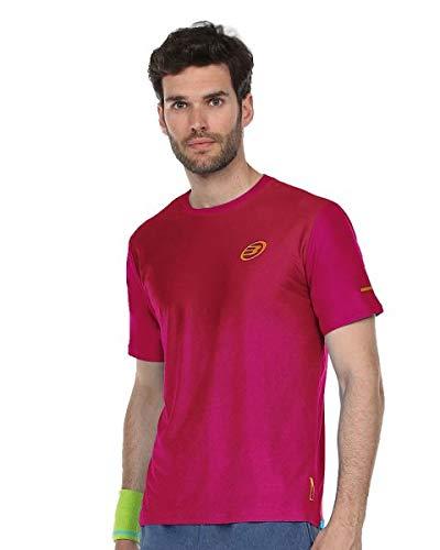 Bullpadel Camiseta Araguel, Hombre, Vino Burdeos, L