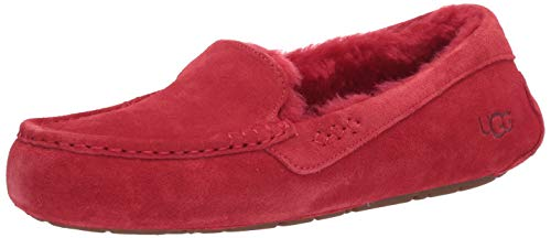 UGG Women's Ansley Slipper, Ribbon Red, 6