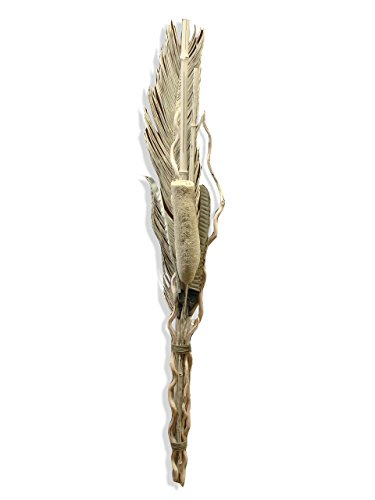 Moycor 9960201 Cañas, Madera, Blanco, 10x10x8 cm