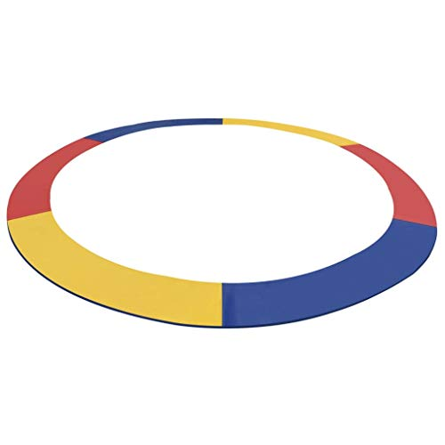 pedkit Safety Pad PVC Multicolour for 13 Feet/3.96 m Round Trampoline, Foam Safety Guard Spring Cover Padding Pads