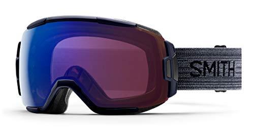 Mittelgro/ße//Gro/ße Passform Squad XL Skibrille mit Chroma Pop CLOUDGREY SMIZD SMITH