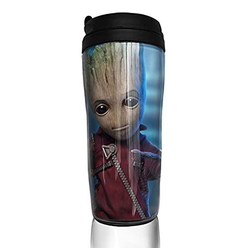 Groot Tree Man - Taza de café reutilizable con aislamiento para bebidas calientes y frías, té y cerveza