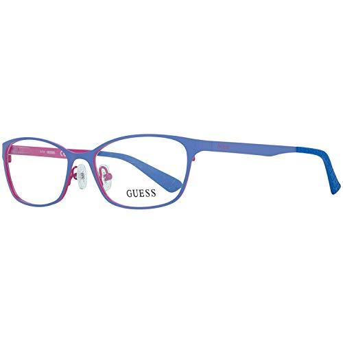 Guess Brille Gu2563 091 52 Montature, Blu (Blau), 52.0 Donna