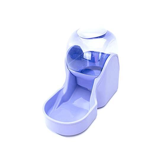 Rayber Comida automática y dispensador de agua para gatos y perros, 3,8 l, comedero automático para gatos y perros, 1 dispensador de agua y 1 comedero automático para mascotas, color azul.