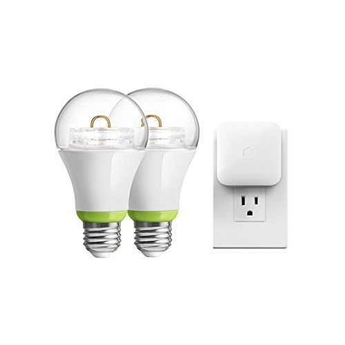 GE Link Starter Kit, PLINK-SKIT, Wireless, A19 LED Light Bulb, Pack of 2 by GE Lighting