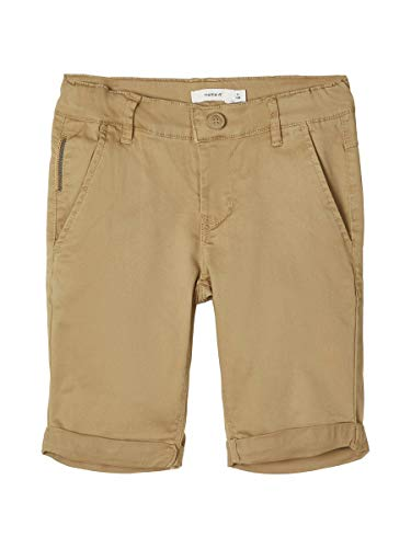 NAME IT Herren Chinoshorts Slim Fit 134Kelp