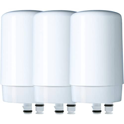 Brita Basic Replacement Water Filters, White, 3 Count