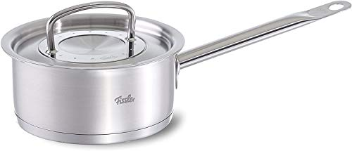 Fissler USA Fissler original-profi collection Stainless Steel Saucepan (6-in, 1,5-Quart) Metal-Lid, Induction, silver