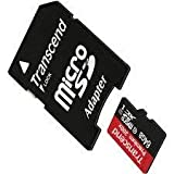 SJCAM SJ4000 Camcorder Memory Card 64GB microSDHC Memory Card with SD Adapter