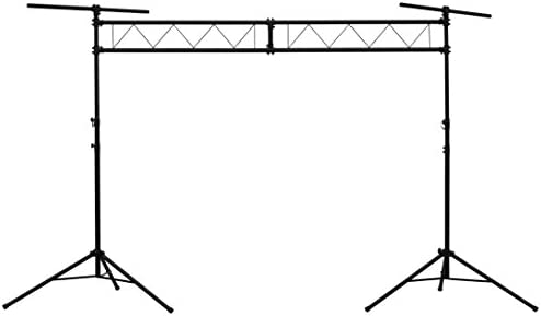 Talent LST1 10 ft Wide DJ Portable Truss Lighting Stand Stage Trussing System with Light T Bars product image