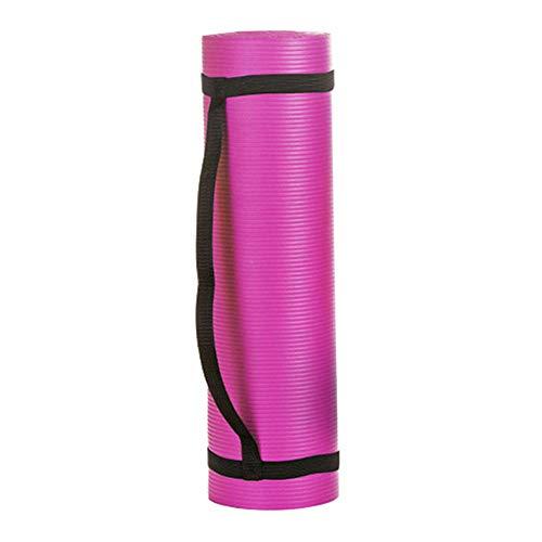 Esterilla Yoga Antideslizante, Superficie Texturizada Antideslizante y Amortiguación óptima, Alfombrilla de Entrenamiento Antideslizante 183cm * 61*1cm