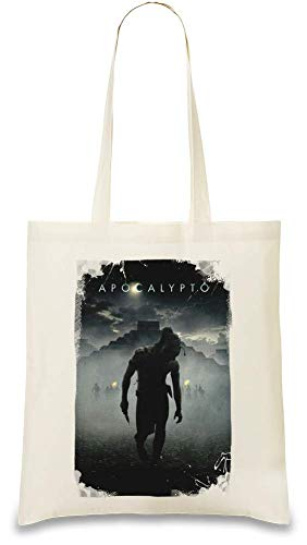 Apokalyptisch Poster - Apocalypto Poster Custom Printed Tote Bag| 100% Soft Cotton| Natural Color & Eco-Friendly| Unique, Re-Usable & Stylish Handbag For Every Day Use| Custom Shoulder Bags By Design