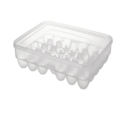 Bandeja de huevos de plástico 34*26 cm 28 rejilla de plástico huevo caja de almacenamiento de huevos nevera caja de almacenamiento de huevos nevera caja de huevo contenedor