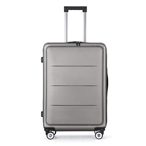 LLRDIAN Suitcase Trolley Carry On Hand Cabin Luggage Hard Shell Travel Bag Lightweight Durable 4 Spinner Wheels (Color : A, Size : 52×36×24CM)