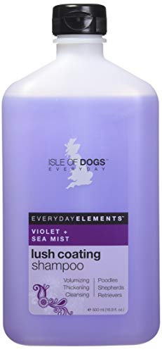 Everyday Isle of Dogs Lush Coating Dog Shampoo, Violet + Sea Mist, 16.9 Ounce