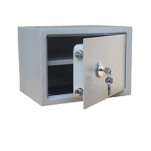Cajas Fuertes para gabinetes Caja Fuerte para Llaves profundización Puede Colocar Caja Fuerte de Papel A4 para Oficina en casa Cajas Fuertes pequeñas en la Pared Mini Cerradura mecánica de Acero