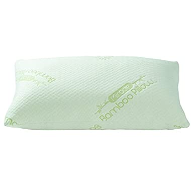 The Original Miracle Bamboo Shredded Memory Foam Pillow - Queen