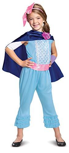 Disguise Disney Pixar Bo Peep Toy Story 4 Classic Girls' Costume, Blue, Medium (7-8)