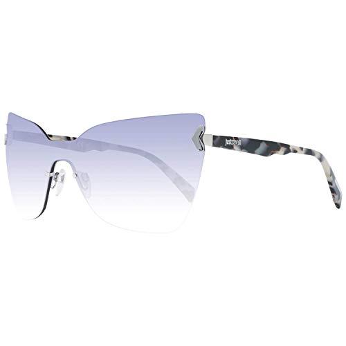 Just Cavalli Sonnenbrille Jc826S 16Z-0-0-130 Gafas de sol, Plateado (Silver), 0.0 para Mujer